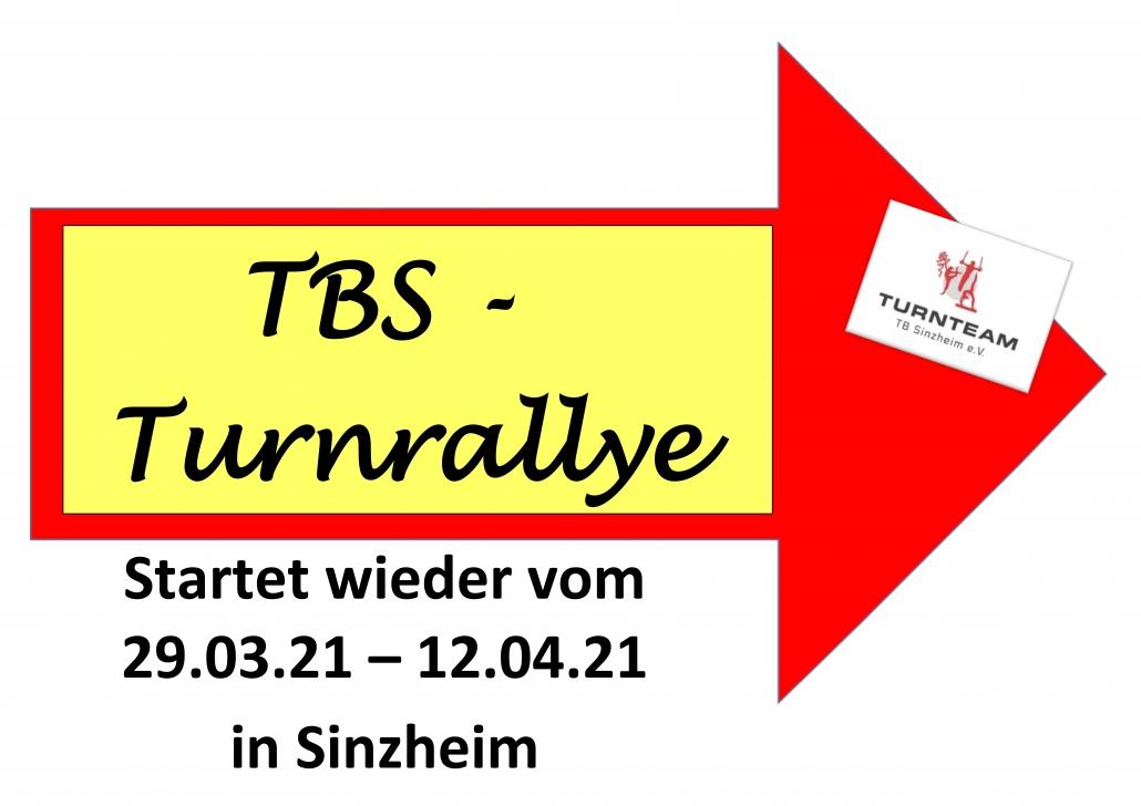 Dritte Turnrallye gestartet